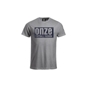 Tshirt tendance gris chiné football fashion
